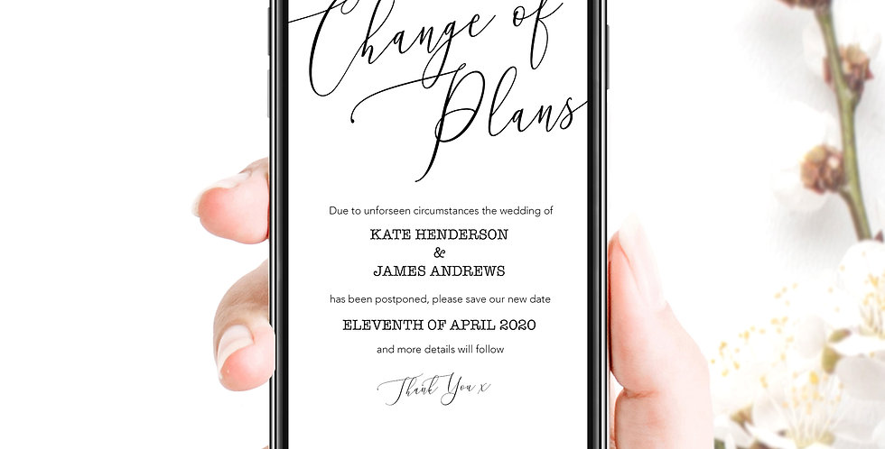Change Of Plans Social Pack - Mono Script