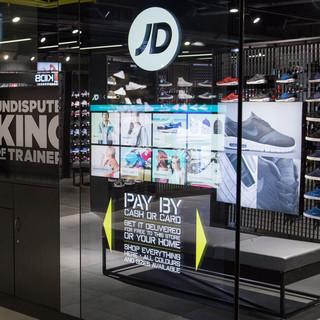 JD Sports Large Format Kiosk