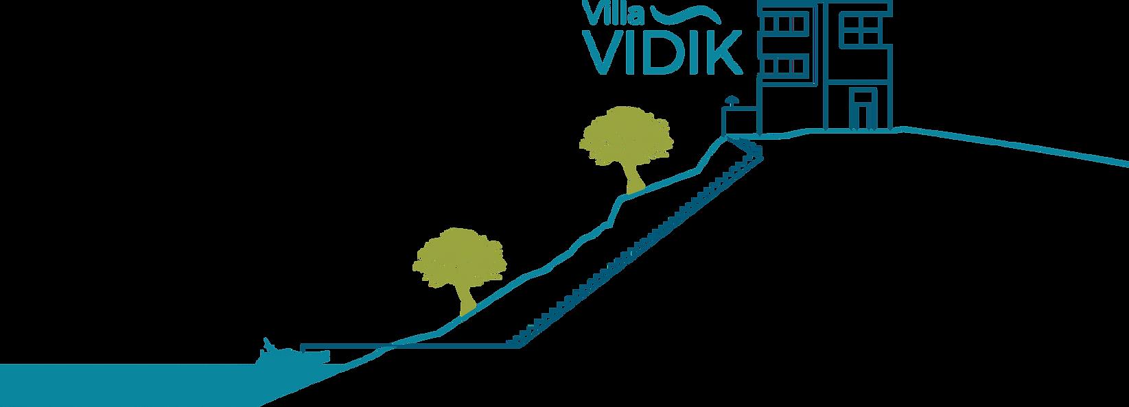 Ilustration of Villa Vidik