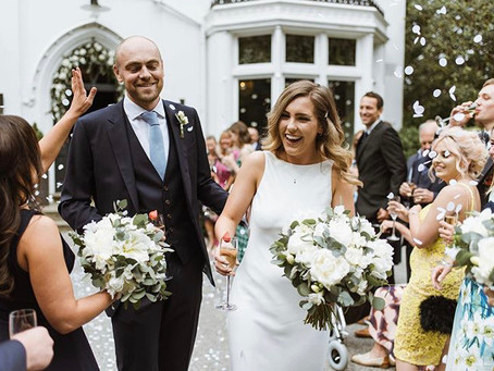 Alice & David's Summer Wedding at Didsbury House Hotel