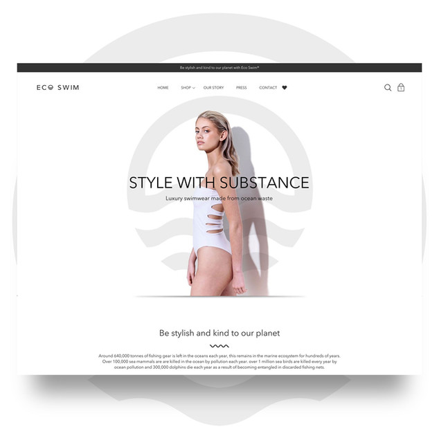 Eco Swim Website
