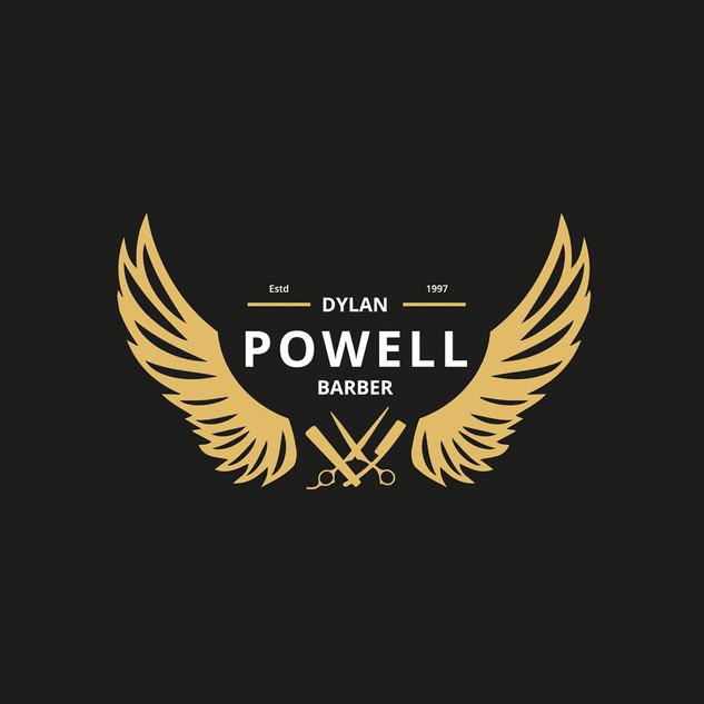 Dylan Powell Barber logo