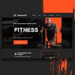 Mastered Fit Website