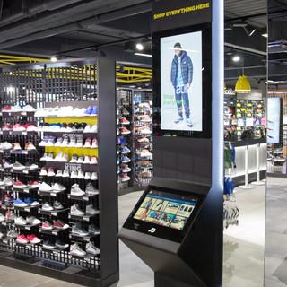 JD Sports Slim Kiosk