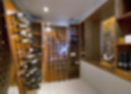 Induldge in the wine cellar