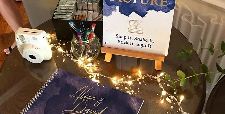 Foiled Wedding Guestbook