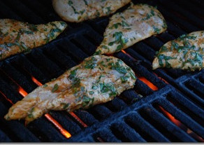 OLD BAY GRILLED CHICKEN