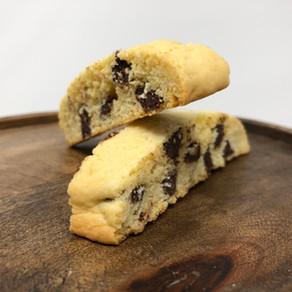 SOME GRANDMA's CHOCOLATE CHIP BISCOTTI