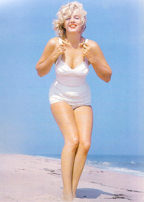 Marilyn on Fire Island