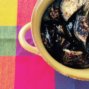 GRILLED MEXICAN EGGPLANT