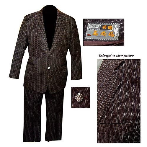 Vintage 2 Button Mod Suit