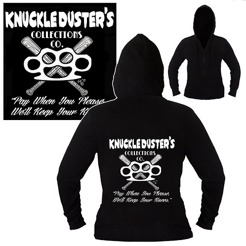 S-XL Unisex Knuckledusters Collection Co. Hoodie