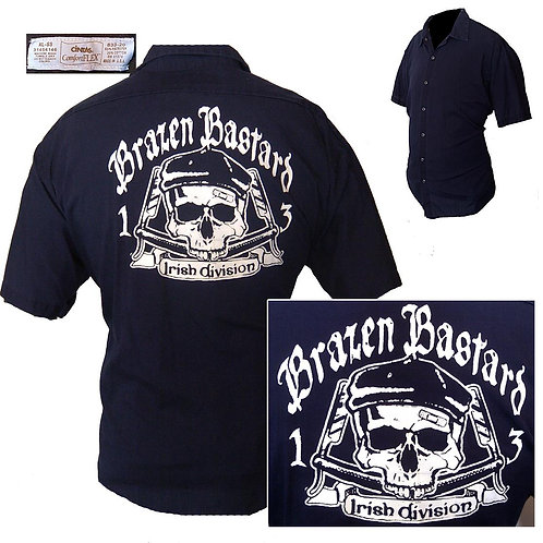 XL Brazen Bastard Work Shirt