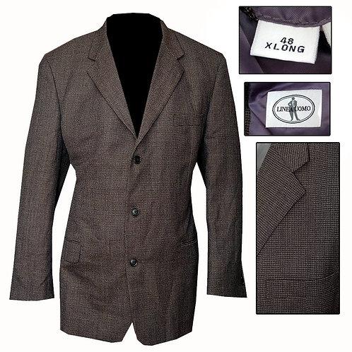Retro 3 Button Suit Jacket