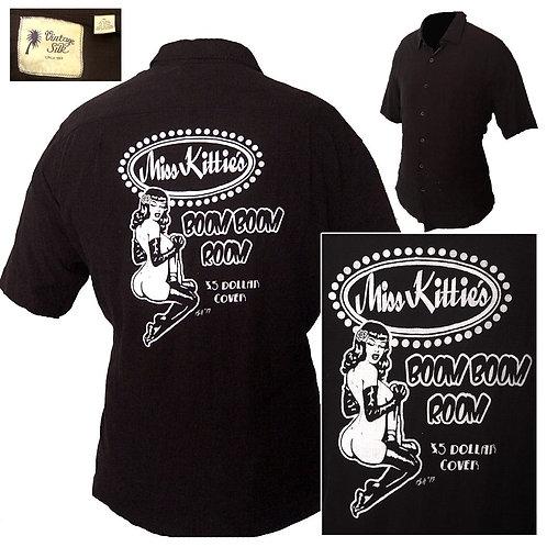 XL (Fits Like A Large) Miss Kittie's Boom Boom Room Lounge Shirt