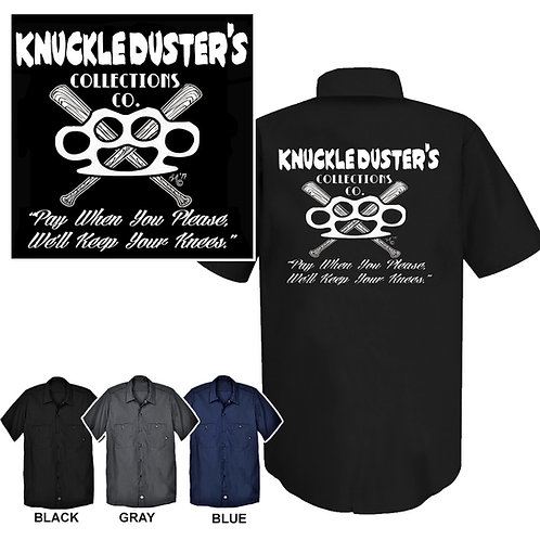 XXL-3XL Knuckle Duster's Collections Work Shirt