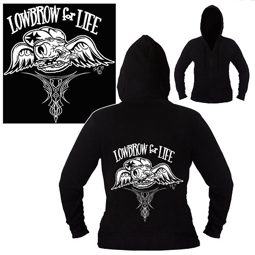 XXL-3XL Unisex LowBrow For Life Hoodie