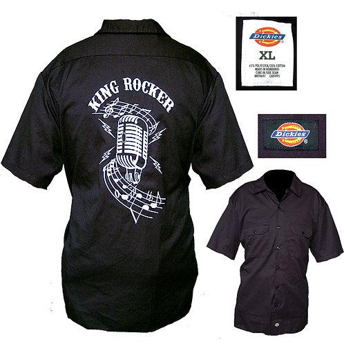 XL King Rocker Embroidered Work Shirt