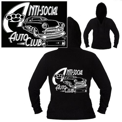 XXL-3XL Unisex Anti-Auto Hoodie