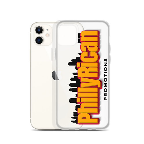 PhillyRican - Clear iPhone Case