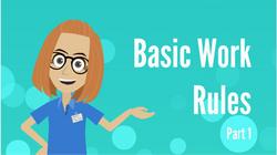 Basic Work Rules