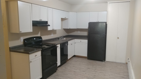Complete Kitchen remodle including all new drywall, cabinets, countertops, appliances.