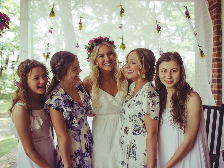 summer flower bridal shower