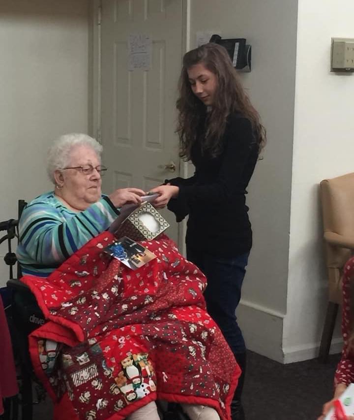 homeschool field trip to nursing home