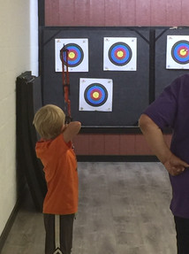 4-h archery practice makes perfect