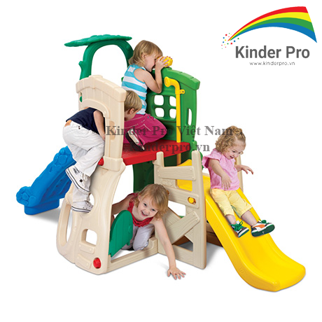 Bộ cầu trượt trẻ em giá rẻ