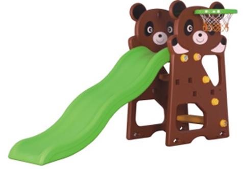 Cầu Trượt Gấu Trúc Kinderprovn