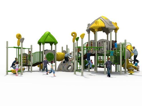Bộ nhà chơi liên hoàn ngoài trời cho trẻ em