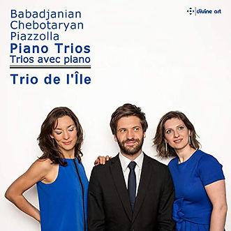 Babadjanian, Chebotaryan, Piazzolla : Trios avec piano, Trio de l'Île