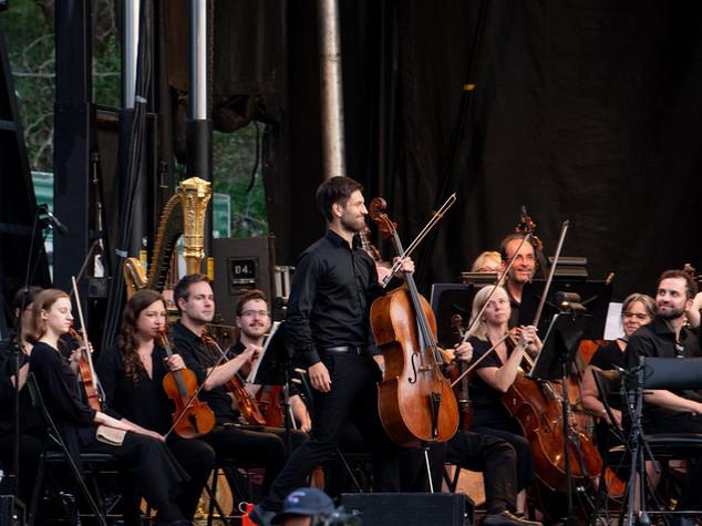 Avec l'Orchestre symphonique de Laval - Crédit André Chevrier