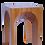 Thumbnail: Mesa ARCH - Arco Pleno (45cm X 45cm X 63cm)