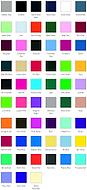 hoodie colour choices