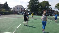 Great fun Cardio Tennis