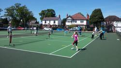 A bit of Touch Tennis