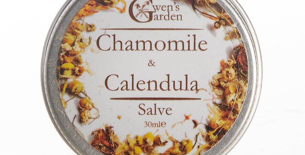 CHAMOMILE & CALENDULA SALVE 30ml