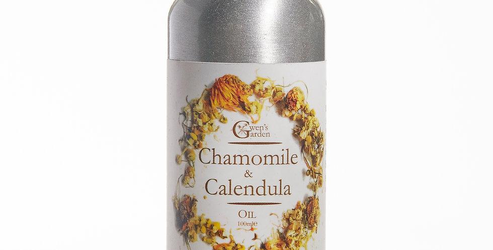 CHAMOMILE & CALENDULA BATH OIL