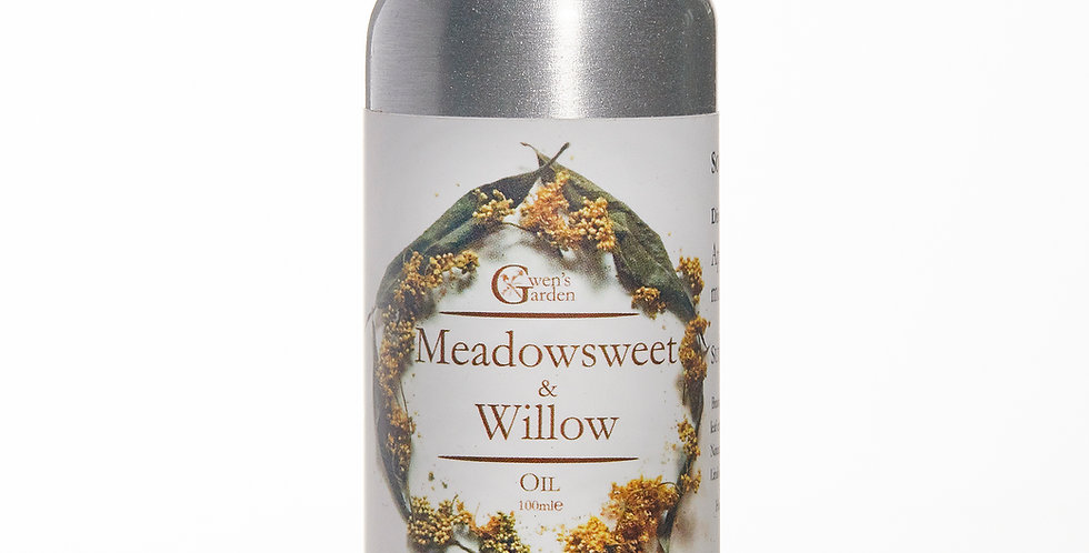 MEADOWSWEET & WILLOW MASSAGE OIL, 100ml