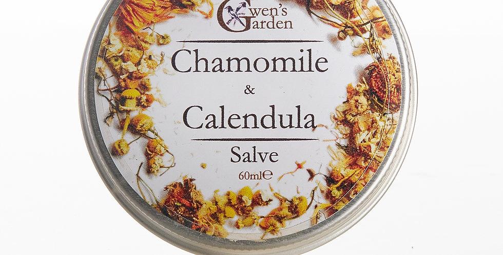 CHAMOMILE & CALENDULA SALVE 60ml
