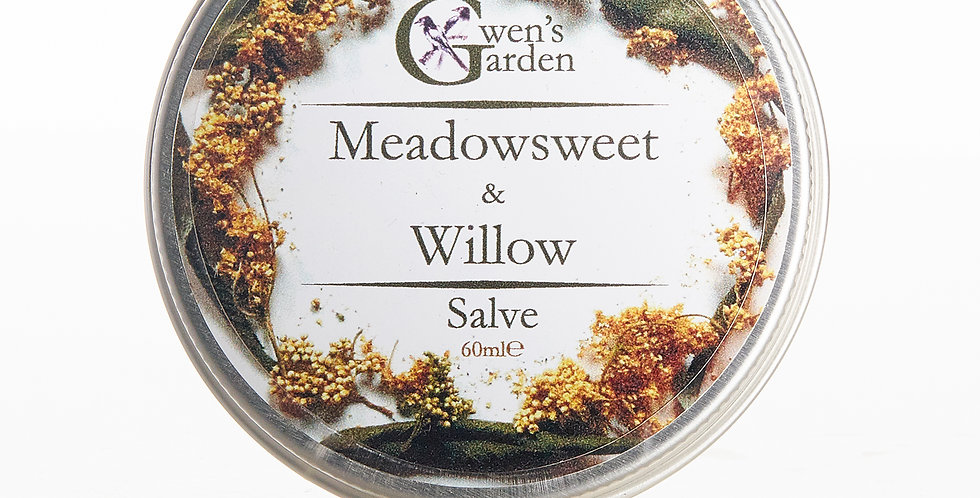 MEADOWSWEET & WILLOW SALVE 60ml
