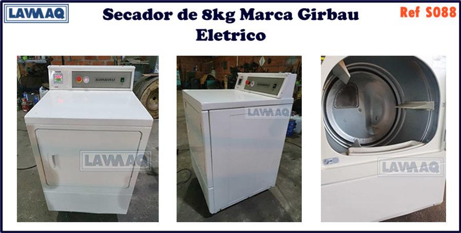 ref S088 secador 8kg  Girbau eletrico