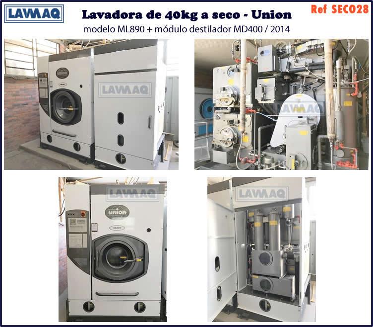 ref SECO028 lavadora a seco 40kg Union