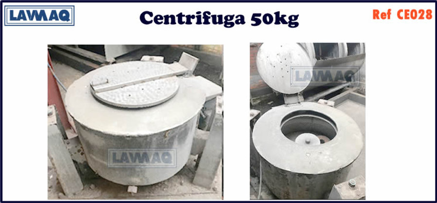 ref CE028 centrifugas 50kg