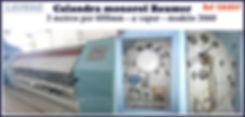 ref CAL037 calandra usada 3060 a vapor Baumer  para lavanderia industrial