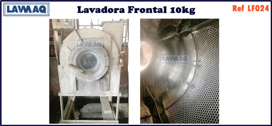 ref LF024 lavadora frontal 10kg
