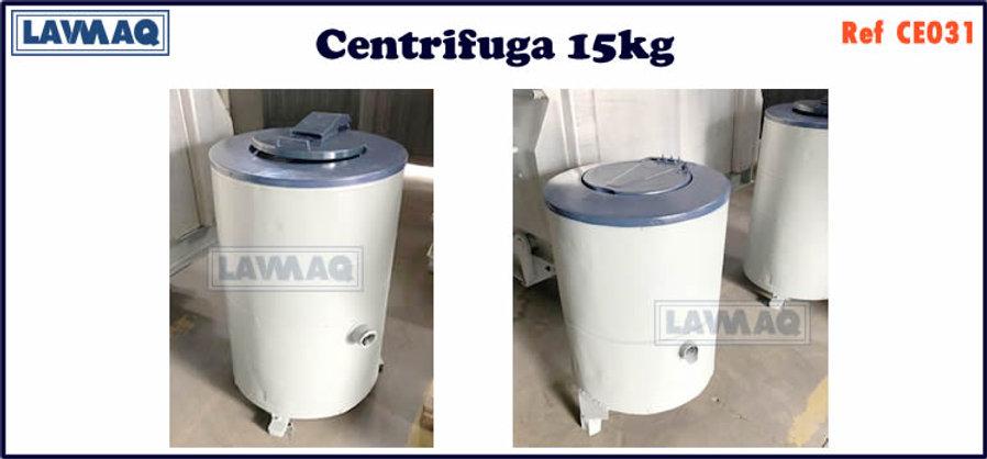 ref CE031 centrifugas 15kg