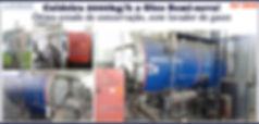 Caldeira 2000kg por hora a oleo Aalborg para lavanderia industrial LAVMAQ